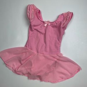 Dance leotard with skirt.